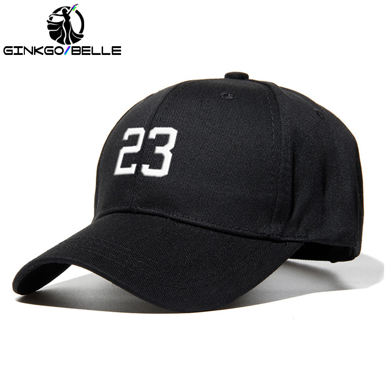 11 Colors Men   Baseball     Cap   With Number 23 Unisex Sport Hats Cotton Embroidery Personality Fans   Cap   Fashion Accessories