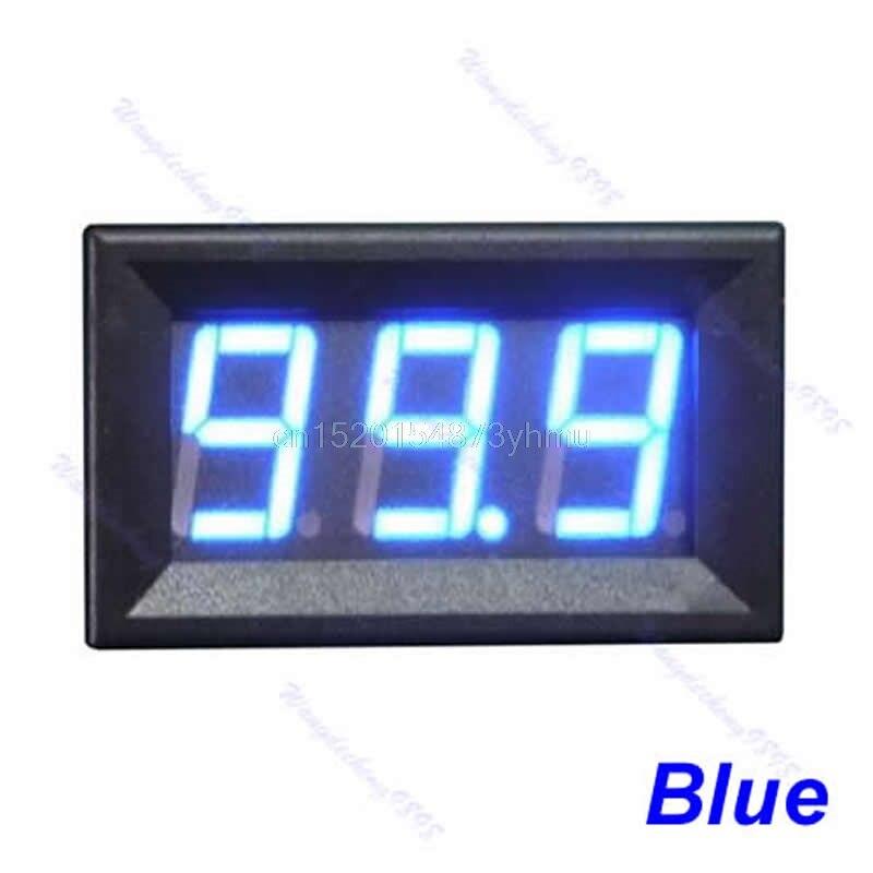 """DC0-10A """"Ampere"""" LED stiprintuvo skydo matuoklis 3 bitų ekranas, - Matavimo prietaisai - Nuotrauka 3"""