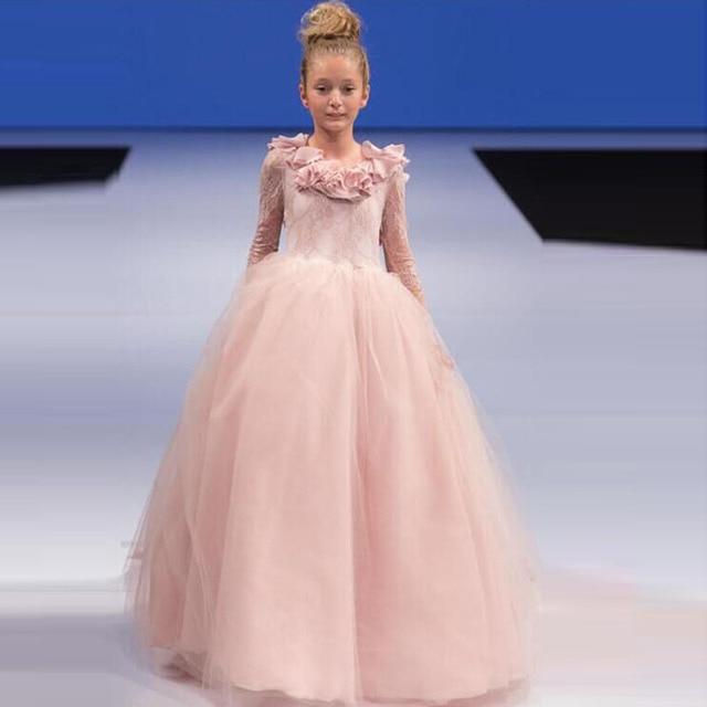 Bonito Vestido De Fiesta Flor Rosa Ornamento - Ideas de Estilos de ...