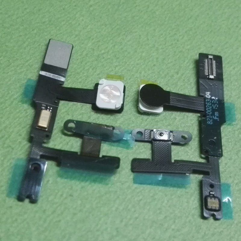 10pcs Power On Off Button Swtich Control connector Flex Cable For Apple Ipad Pro 9.7 inch mini A1673 A1674 A1675 Flashing Light