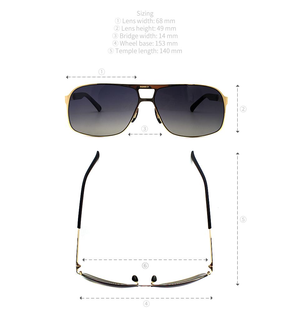 a1def8f99d Men s Light Driving Sunglasses Italy Design Metal Sunglasses ...