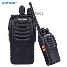 5x BAOFENG BF-888S UHF 400-470MHz 5W 16CH Ham Two-way Radio Walkie/Talkie LB0535