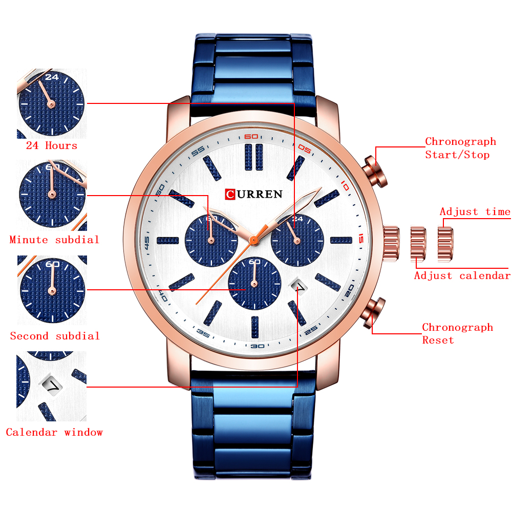 Chronograph Brand Last Sports