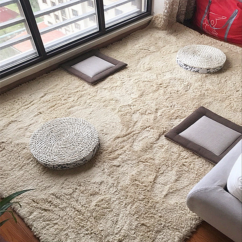 Infant Shining Living Room Mat Bedroom Carpet Bedside Mat Room Rug Plush Mat Thick Lamb Velvet Baby Play Mat Machine Washable fashion thicken soft coffee color carpet floor living room area rug mat bedroom home carpets doormat washable size 80 160 3 cm page 2