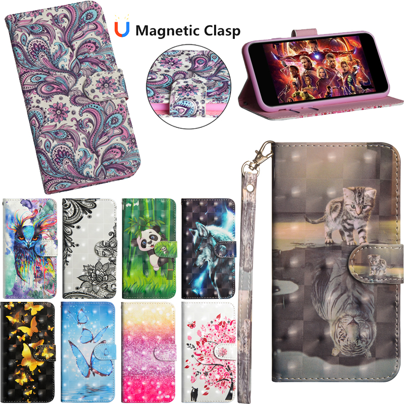 Luxury Flip Wallet PU Leather TPU Phone Silicone Soft Case Stand Cover Shell Coque Fundas for xiaomi Redmi Note 6 Pro in Flip Cases from Cellphones Telecommunications