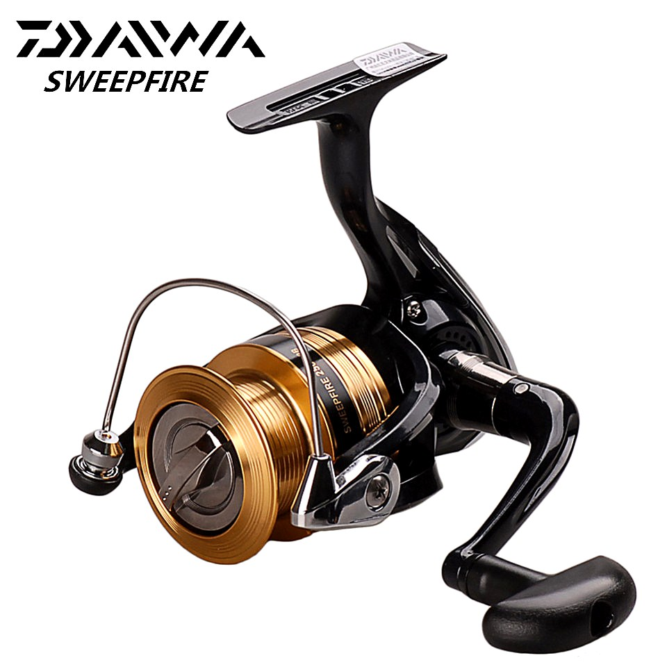 Fishing-Reel Spinning Saltwater Daiwa Sweepfire Carretilhas Pesca 2BB 3500/4000 title=