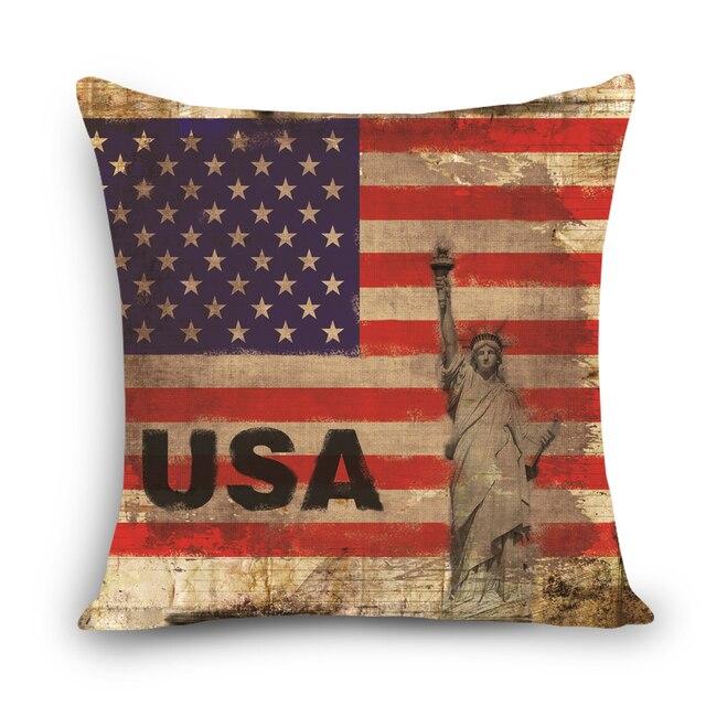 USA style décoratif oreillers Canapé siège De Voiture retour
