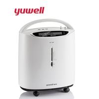 Yuwell 3L Интеллектуальный портативный концентратор кислорода Авто сигнализация медицинское оборудование домашний концентратор кислорода ус