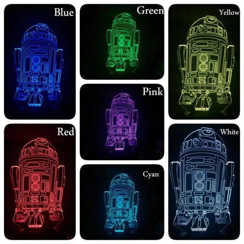 Star Wars Lamp 6