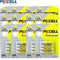 48 pcs/12 pacote pkcell baterias ni-mh 1000 mah 1.2 v aaa bateria recarregável bateria para câmera lanterna brinquedo