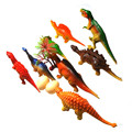 8 Pcs Modelos Multi-cor PVC Simulação Dinossauro Jurassic Park Dinossauro Animais Mundo Brinquedos Infantis para Crianças de Brinquedo de Presente Exclusivo