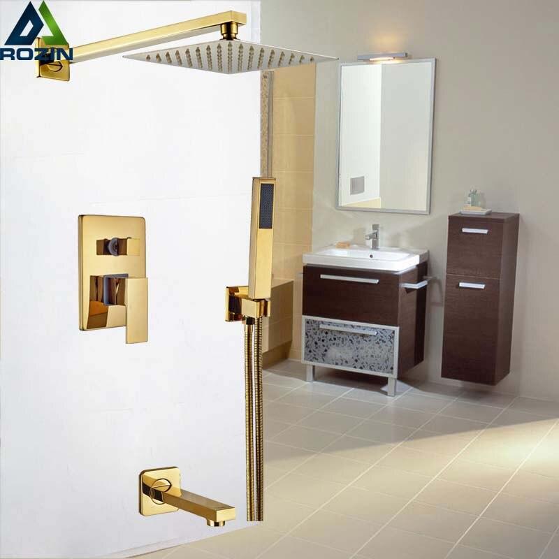 Luxury Golden Wall Mounted 8