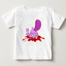 цена на 2018 Casual O-Neck children T Shirts HAPPY TREE FRIENDS T Shirt Short-Sleeve White short sleeves Pure cotton T - shirt MJ