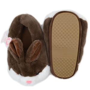 Image 5 - Millffy милые розовые плюшевые теплые бархатные Тапочки с кроликом, удобная домашняя обувь, Тапочки с кроликом хомяка, плюшевые тапочки с котом