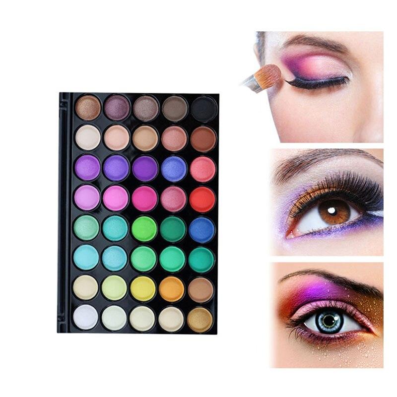 40 Color Matte Eye shadow Pallete Make Up Earth Palette EyeShadow Makeup  Glitter Waterproof Lasting Makeup Easy to Wear f5e3a79731