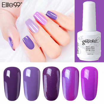 Elite99 Gel Polish Set UV Vernis Semi Permanent Primer Top Mantel 15ML Poly Gel Lack Nagel Kunst Maniküre Gel lak Polituren Nägel