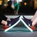 Led shoes for adults led casual men shoes led luminous shoes 2016 plus size light up casual shoes for adults free shipping