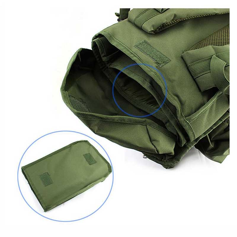 Вместительная Спортивная походная сумка для мужчин, военный тактический рюкзак для альпинизма, кемпинга, охоты, рыбалки, путешествий - 6