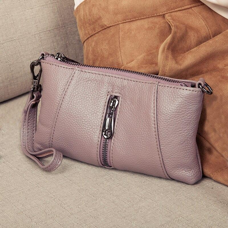 3ace31158a7 Bolsos de lujo de mujer bolsos de diseñador de cuero genuino bolso de mano  de moda Mini bandolera bolso de mano de mujer carteras