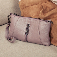 Luxury Handbags Women Bags Designer Genuine Leather Clutch Bag Fashion Mini Shoulder Crossbody Bags Female Clutch Purse Wallets