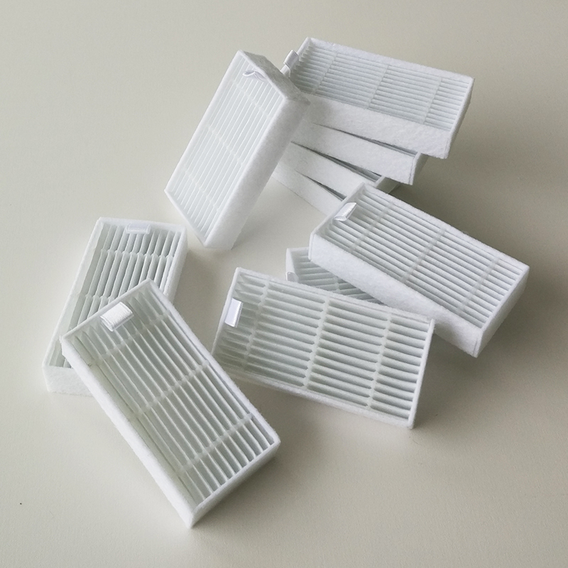 Aggressive 10pcs /lot Robot Vacuum Cleaner Parts Hepa Filter Replacement For Haier T322,gutrend Joy 90 Pet Fun110,ilife V50 V5s Pro Waterproof Vacuum Cleaner Parts Cleaning Appliance Parts Shock-Resistant And Antimagnetic