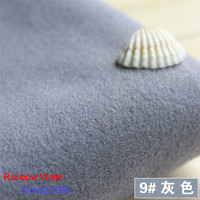 9 Grey 1 Meter One Side Brushed Imitation Woolen Garment Fabric For DIY Colthes Overcoat Skirt
