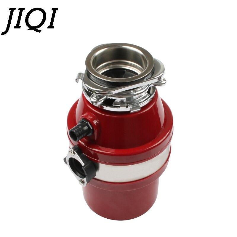 JIQI Food Waste Disposer Garbage Processor Disposal Crusher Stainless steel Grinder High-sensitivity Kitchen Sink Appliance 560W