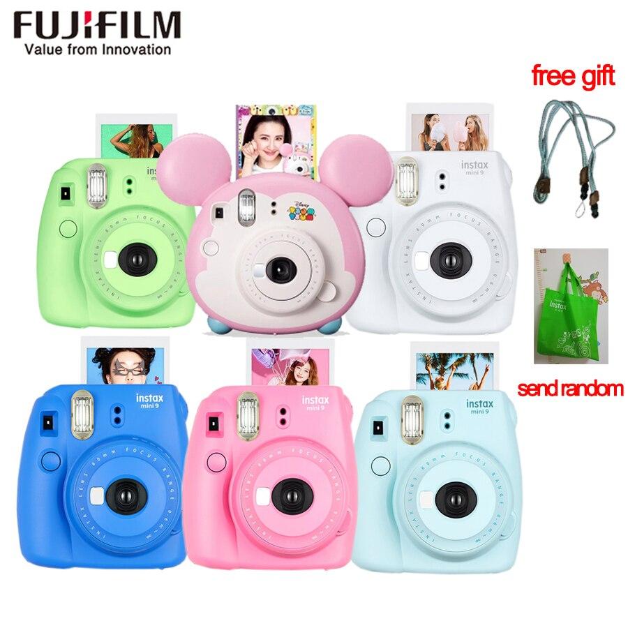 Appareil Photo Original Fujifilm Fuji Instax Mini 9 à Film instantané + 20 feuilles Fujifilm Instax Mini 8/9 Films
