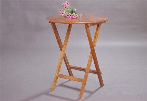 Legno Naturale Bianco : Pieghevole in legno tavolino rotondo cm colore bianco