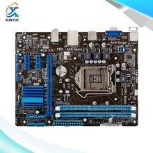Для p8h61-m lx3 r2.0 оригинальный используется для рабочего материнская плата для intel H61 Сокет LGA 1155 Для i3 i5 i7 DDR3 16 Г uATX