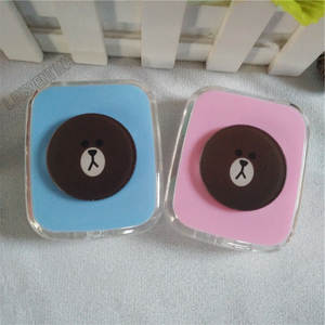 e245e7f72f LIUSVENTINA Cute Contact Lens Case Box Container Lenses