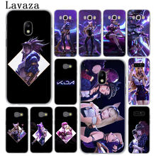 Lol League of Legends kda kaisa Ahri akali Evelynn สำหรับ Samsung Galaxy J6 J5 J1 J2 J3 2017 2016 2015 Prime J7 US EU รุ่น(China)