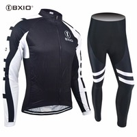 New Arrival Bxio Long Sleeve Pro Team Cycling Set Bicycle Wear Autumn MTB Bike Clothing Ropa Ciclismo Hombre Cycling Kit 15