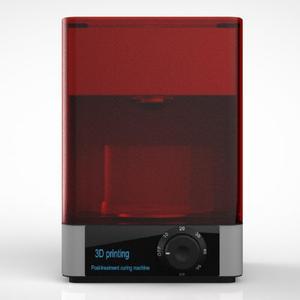 Image 4 - DLP/LCD/ SLA resin 3D printer UV curing Rotating&Timing machine 400 405nm wavelength UV LED Lamp curing  box