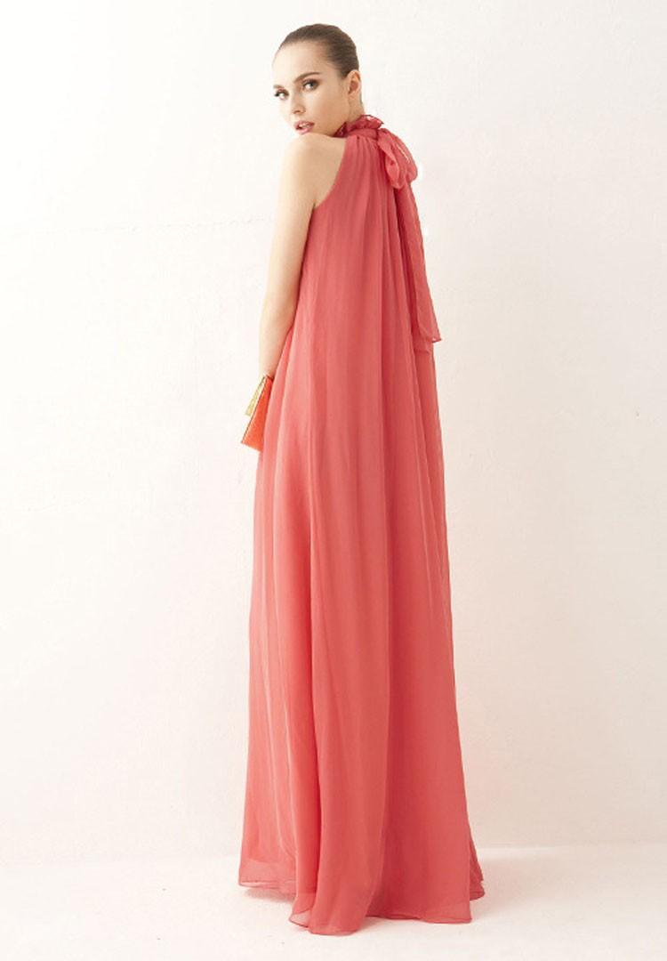Women Summer Bohemian Style Long Chiffon Dress Ladies Clothes Pregnant Maternity Dresses Maternidade Pregnancy Clothing 6