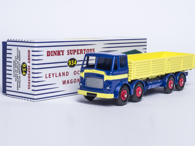 DINKY SUPERTOYS 934 Dinky Toys 1:43 Atlas CAMION LEYLAND OCTOPUS TRUCK Alloy Diecast Car model & Model