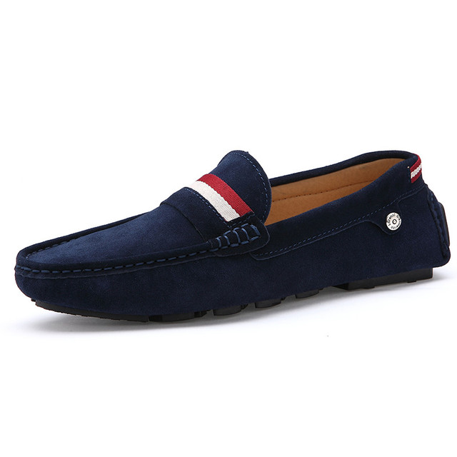 blue shoes men