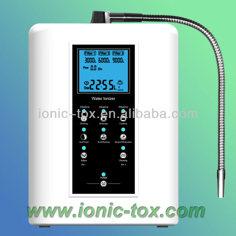 Water Ionizer Electrode Alkaline Hydrogen Machine  110/220V  OH-806-3W hydrogen water machine and water ionizer wth 802