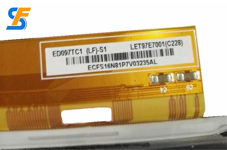 9,7-zoll ED097TC1 (LF)-S1 E-book bildschirm LET97E7001 E-tinte bildschirme für onyx BOOX M96...