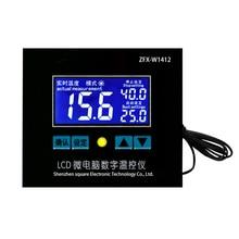 цена на W1412LCD High Precision Temperature Controller Microcomputer Digital Temperature Controller Fot Sale