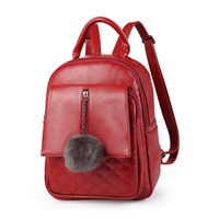 New Designer Brand 2017 Preppy Backpacks Women Bagpack Pu Leather School Shoulder Bags Student Purse Girls