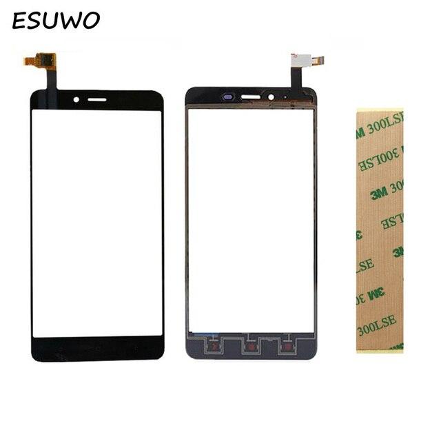 ESUWO Touch Screen Sensor Glass For Xiaomi Redmi Note2 Hongmi Note 2 Touch Screen Front Glass Panel Digitizer Replacement
