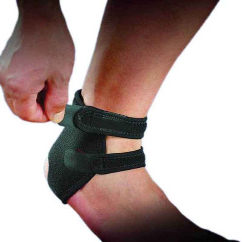 1pc Neoprene Ankle Open Brace Support Pad Guard Achilles Tendon Sports Strap ...
