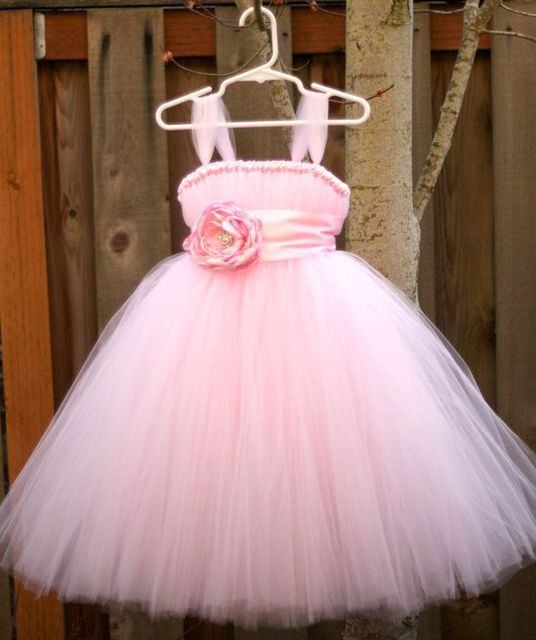 De Color rosa bebé niña vestido de 2015 del verano del bebé de la ...