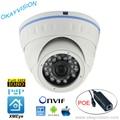 ONVIF ИК Ночного Видения P2P H.264 2MP Full HD 1080 P HD-IP DC48V POE купольные камеры XMEye ПРИЛОЖЕНИЕ для Смарт-телефон