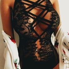 США пикантная Кружевная комбинация Женское ночное белье Ночное белье боди