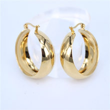MGUB New Year gift earrings stainless steel jewelry earrings female jewelry do not fade 35mm 50mm size Free Shipping LH181
