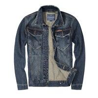 2017 Autumn New Fashion Mens Jackets Retro Designer High Quality Slim Fit Denim Jackets Men Brand