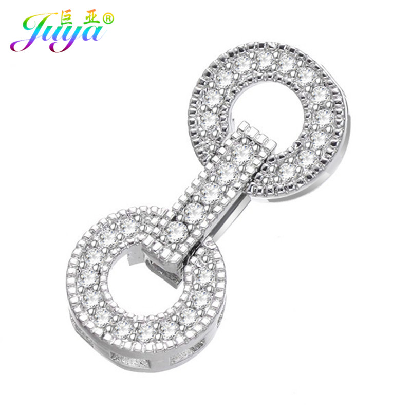 Ali Moda DIY Jewelry Fittings Fastener Clousure Pearl Clasps Accessories For Women Beads Pearls Bracelets Necklace DIY Making