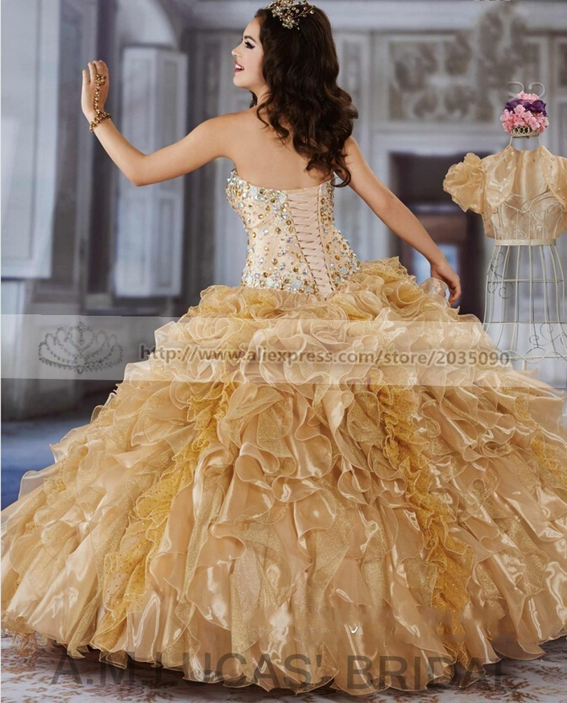 Yellow-2016-Quinceanera-Dresses-With-Jacket-Formal-Ball-Gown-Plus-Size-Sweet-16-Year-Princess-Dresses (3)